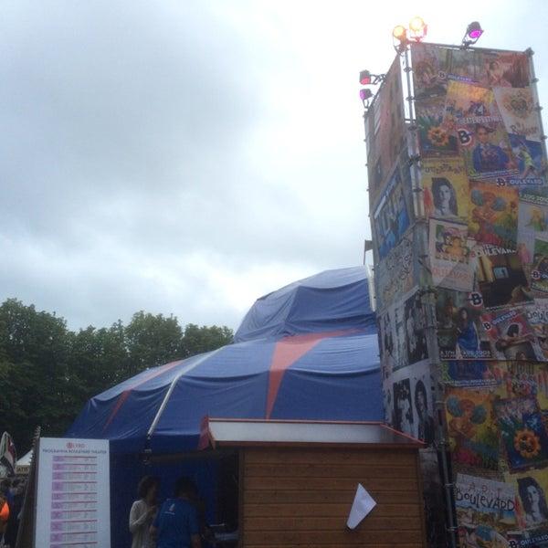 Photo taken at Festivalplein Theaterfestival Boulevard by Sandro T. on 8/17/2014