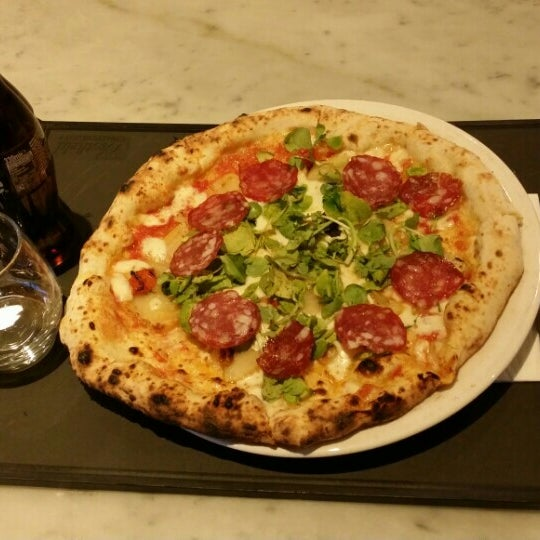Photo taken at Franco Manca by Stefano B. on 4/15/2015