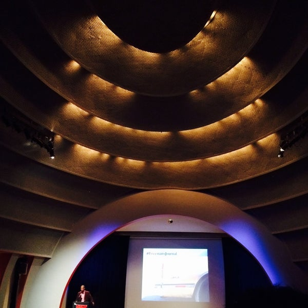 Photo taken at The New School Auditorium at 66W 12th by Peach T. on 9/29/2015