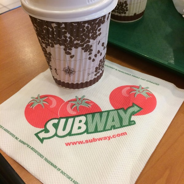 Photo taken at Subway by Bryan H. on 3/26/2015