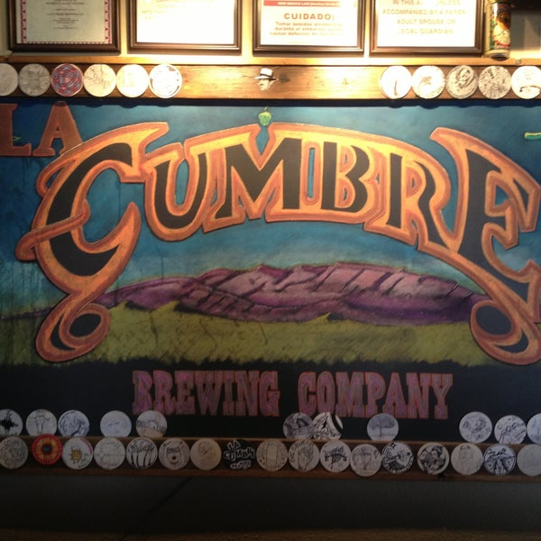 Photo taken at La Cumbre Brewing Company by Thomas M. on 5/12/2013