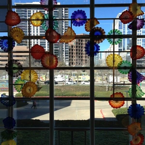 Photo taken at Dallas Museum of Art by pinkgerbers on 2/17/2013