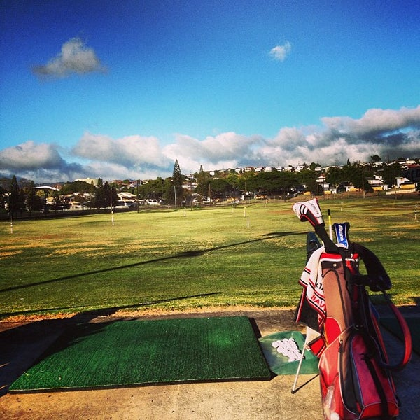 Photo taken at Navy Marine Golf Course by Rj E. on 1/12/2013