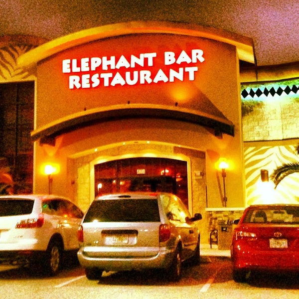 Photo taken at Elephant Bar Restaurant by Rj E. on 11/19/2012