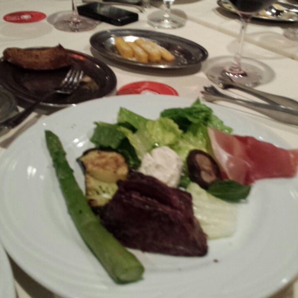 Photo taken at Fogo de Chão Churrascaria by Candy M. on 12/21/2013