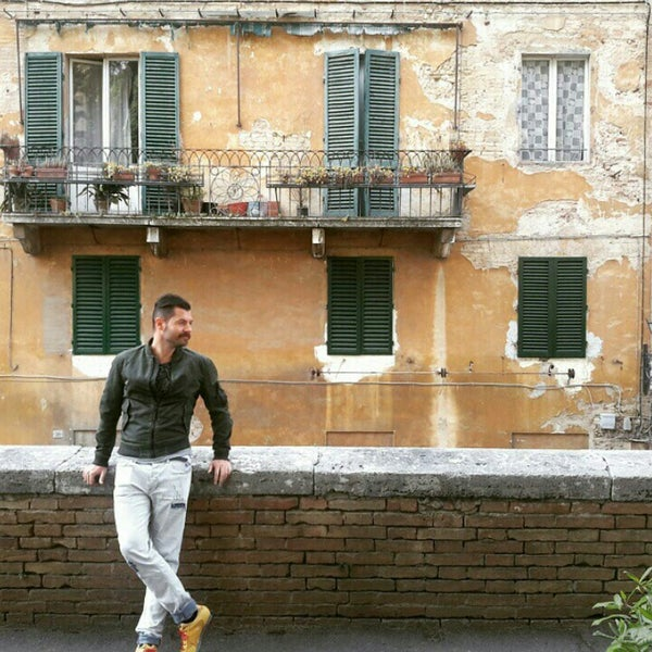 Photo taken at Siena by Mert A. on 4/30/2015
