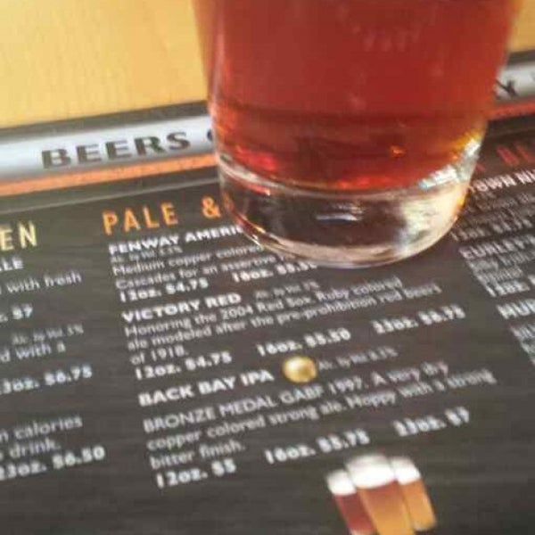 Photo taken at Boston Beer Works by William G. on 5/30/2013