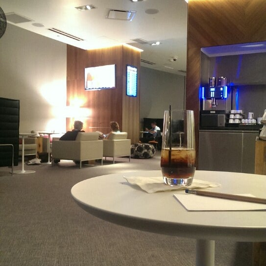 Photo taken at The Centurion Lounge by American Express by Fernando M. on 10/29/2013