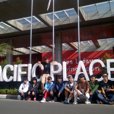 Photo taken at Pacific Place by Panca A. N. on 11/24/2012