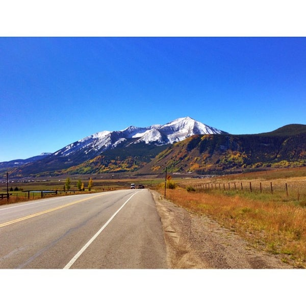 Photo taken at Crested Butte, CO by R L. on 9/29/2013