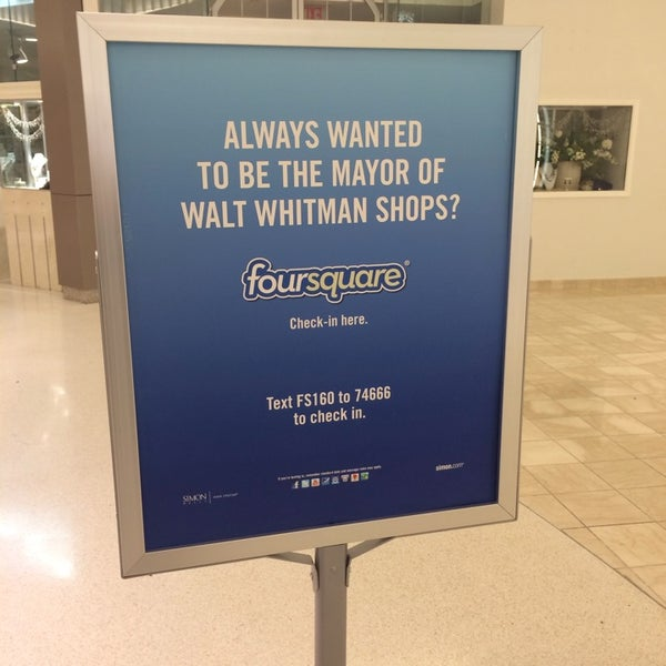 Photo taken at Walt Whitman Shops by Jennifer C. on 12/30/2013
