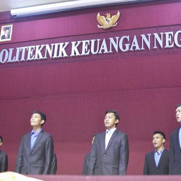 Photo taken at Sekolah Tinggi Akuntansi Negara (STAN) by Egan T. on 5/8/2016