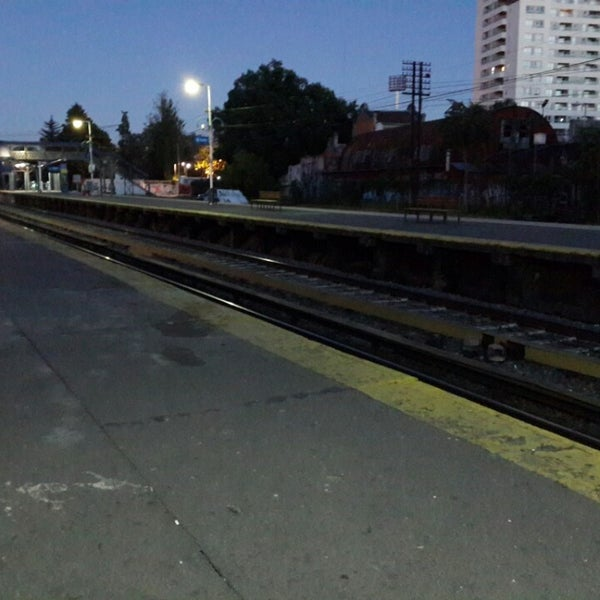 Photo taken at Estación Caballito [Línea Sarmiento] by Juan S. on 4/18/2014