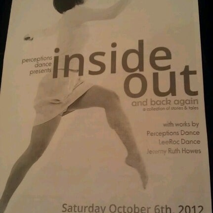 Photo taken at Boston University Dance Theater by Caroline O. on 10/6/2012
