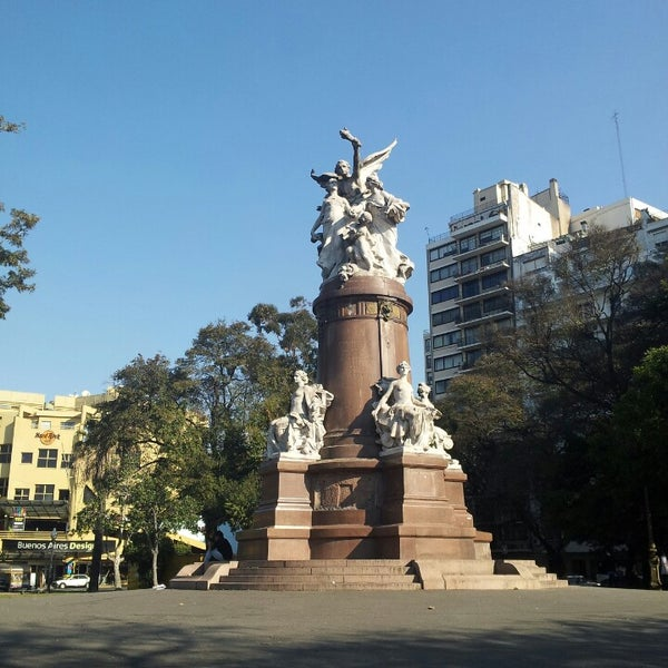 Photo taken at Plaza Francia by Margaret P. on 8/20/2013