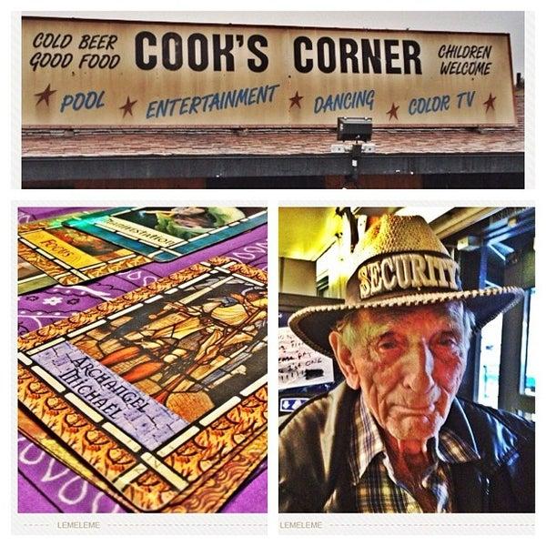 Photo taken at Cook's Corner by John N. on 12/3/2012