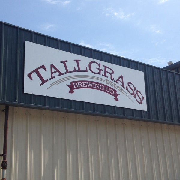 Photo taken at Tallgrass Brewing Co by Beth W. on 8/9/2014