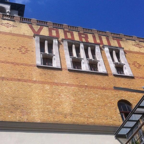 Photo taken at Vooruit Café by Elena V. on 5/15/2015