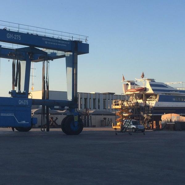 Photo taken at Port de Tarragona by Albert P. on 1/21/2016