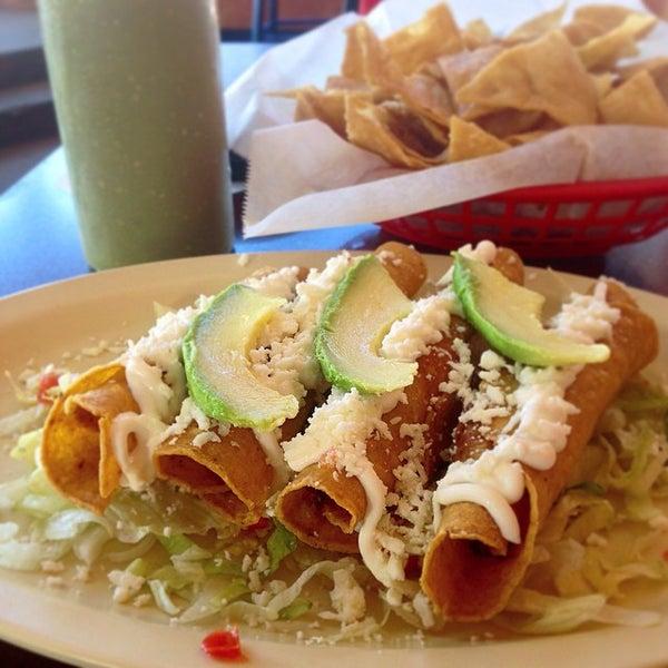 Photo taken at Tia Cori's Tacos by Phillip M. on 10/27/2014