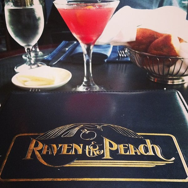 The Raven And The Peach Tea Room