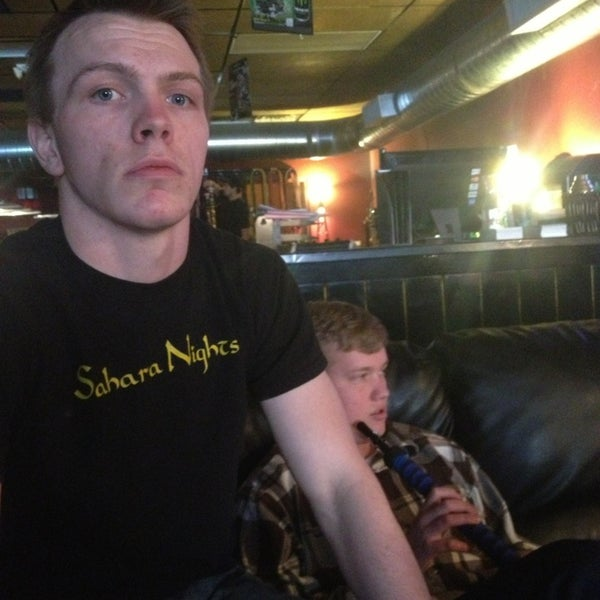 Photo taken at Sahara Nights Hookah Lounge by Jared P. on 4/2/2013