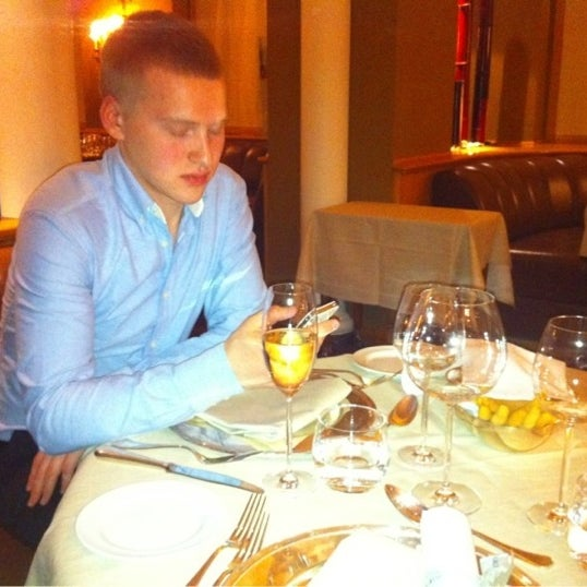 Photo taken at Casanova Restaurant by Ilya on 12/31/2012