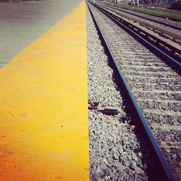 Photo taken at Estación Caballito [Línea Sarmiento] by Fer C. on 8/18/2014