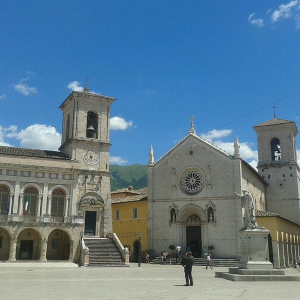Photo taken at Norcia by Andrea C. on 7/6/2014