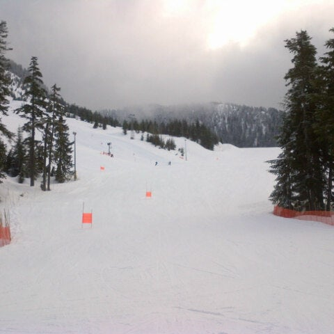 Photo taken at Cypress Mountain Ski Area by Kenneth L. on 3/23/2013
