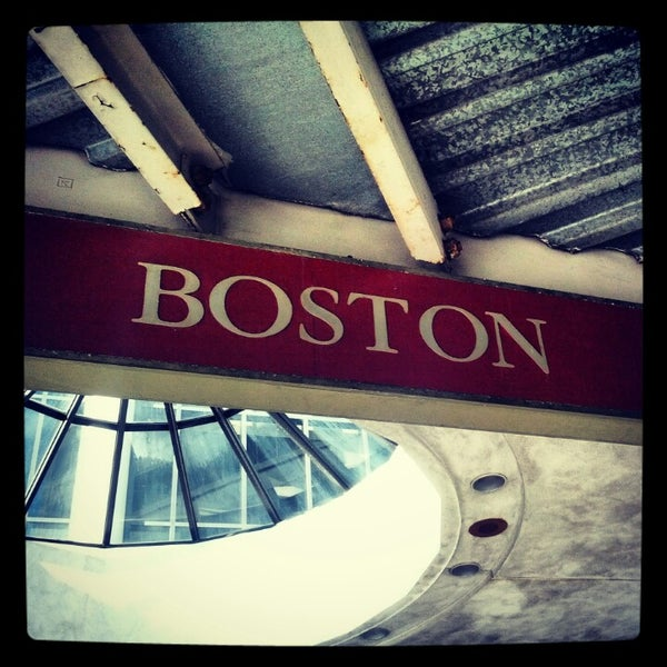 Photo taken at MBTA South Station by Wil R. on 11/4/2012