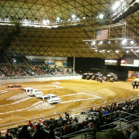 Photo taken at Bell County Expo Center by Jamien G. on 1/19/2013