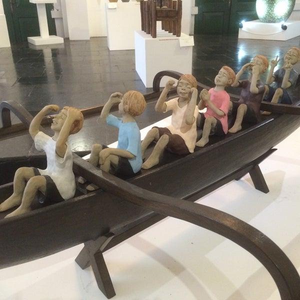 Photo taken at Museum Seni Rupa dan Keramik by Izwah M. on 11/18/2015