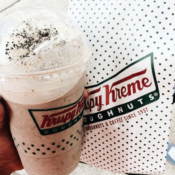 Photo taken at Krispy Kreme by Keziah C. on 6/13/2015