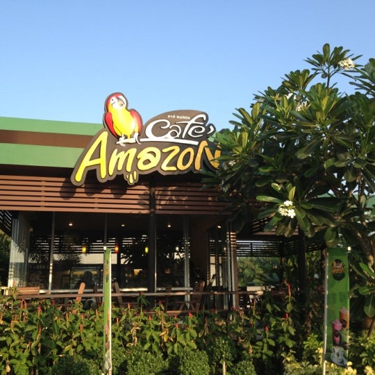 Photo taken at Café Amazon by Ariss S. on 12/8/2012