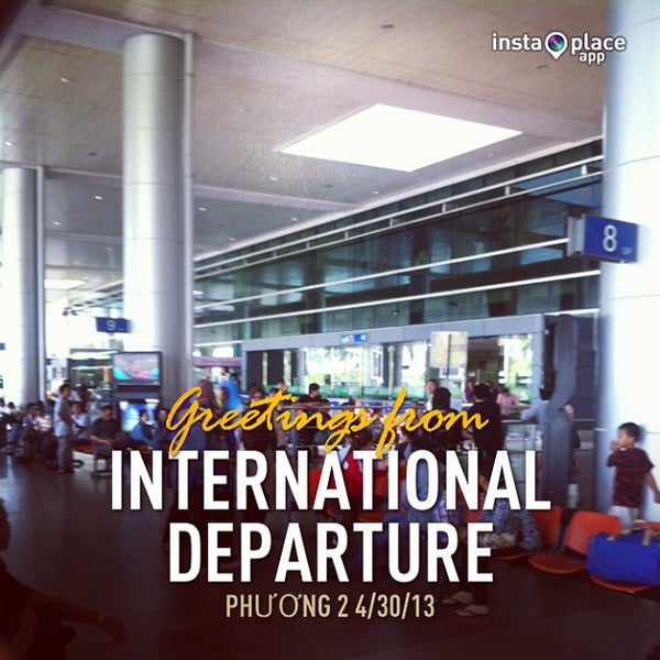 Photo taken at Tan Son Nhat International Airport (SGN) by AnwarHilmi E. on 4/30/2013