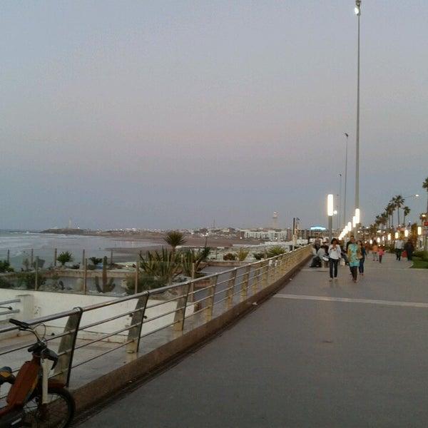 Photo taken at La Corniche de Casablanca by Enrique 3. on 9/18/2013