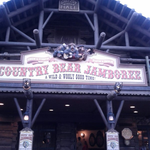 Photo taken at Frontierland by Kay J. on 2/20/2014