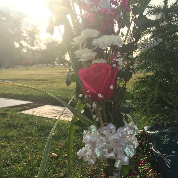 Photo taken at Oakdale Memorial Park and Mortuary by Crystal N. on 12/24/2015