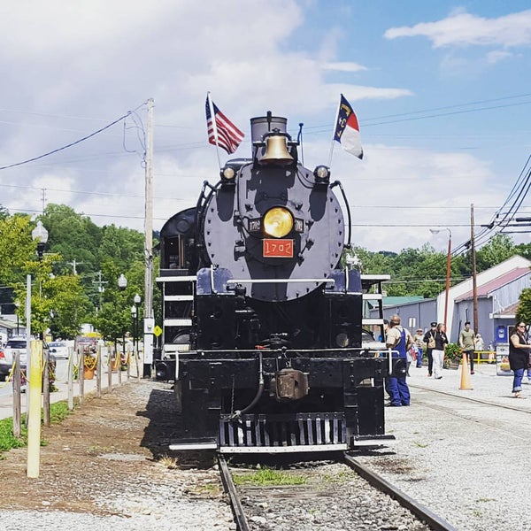 Photo taken at Great Smoky Mountain Railroad by John G. on 8/21/2016