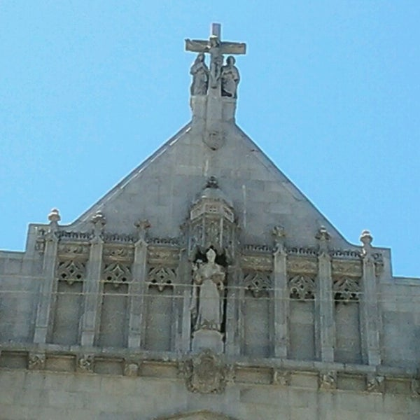 Photo taken at St. Dominic's Catholic Church by Lisa L. on 6/27/2013