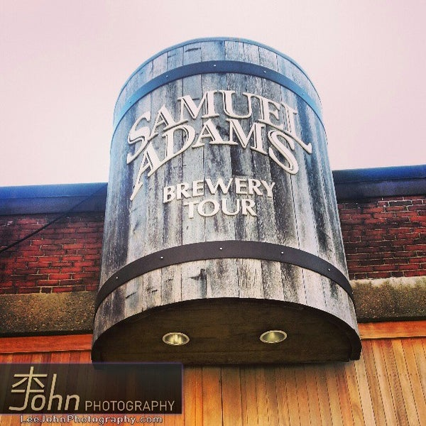 Photo taken at Samuel Adams Brewery by John L. on 3/30/2013