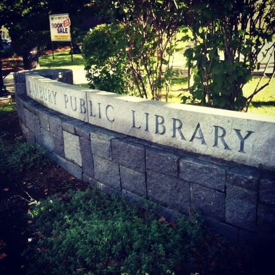 Photo taken at Danbury Public Library by Alexa R. on 9/29/2012