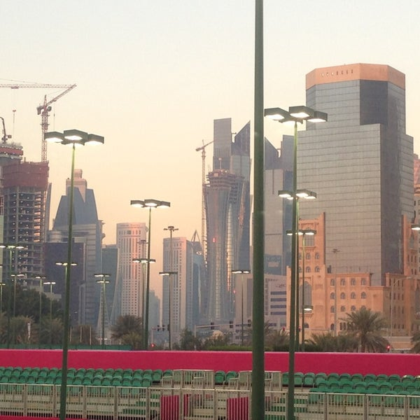 Photo taken at Qatar Tennis Federation by Nin's Travelog on 2/16/2013