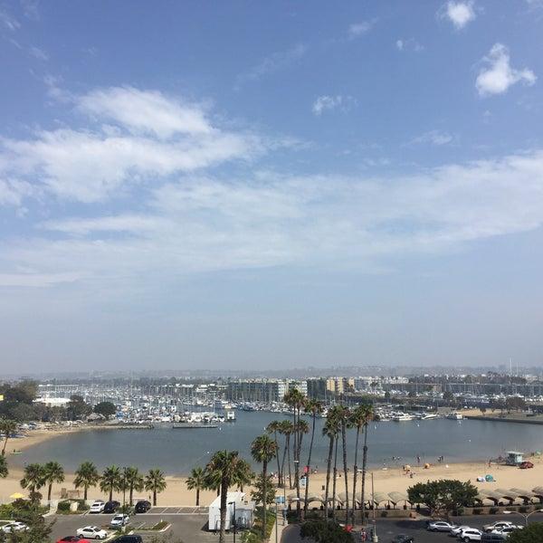Photo taken at Marina Del Rey Marriott by Ryan K. on 6/27/2016