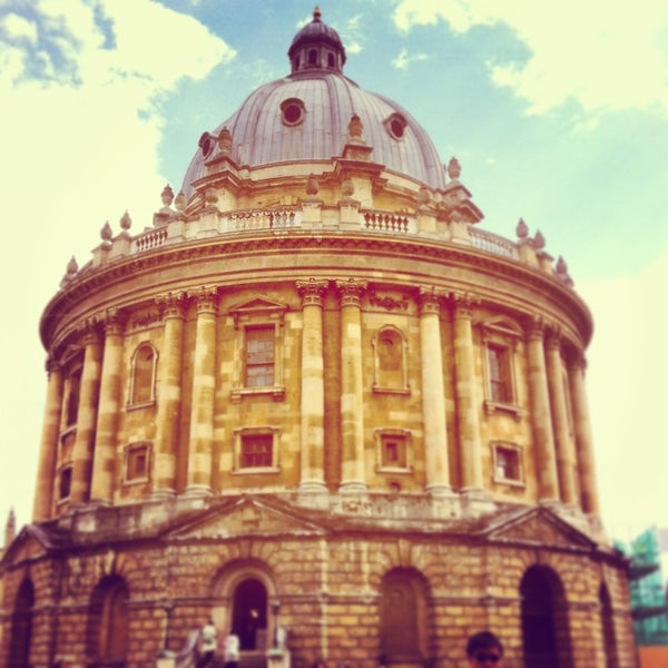 Photo taken at Radcliffe Camera by Emma W. on 5/16/2013