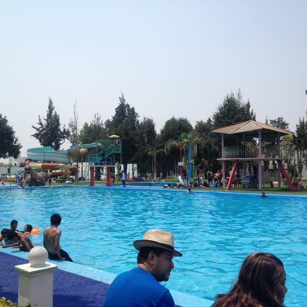 Balneario puerto escondido piscina en san andr s cholula for Balneario de fortuna precios piscina