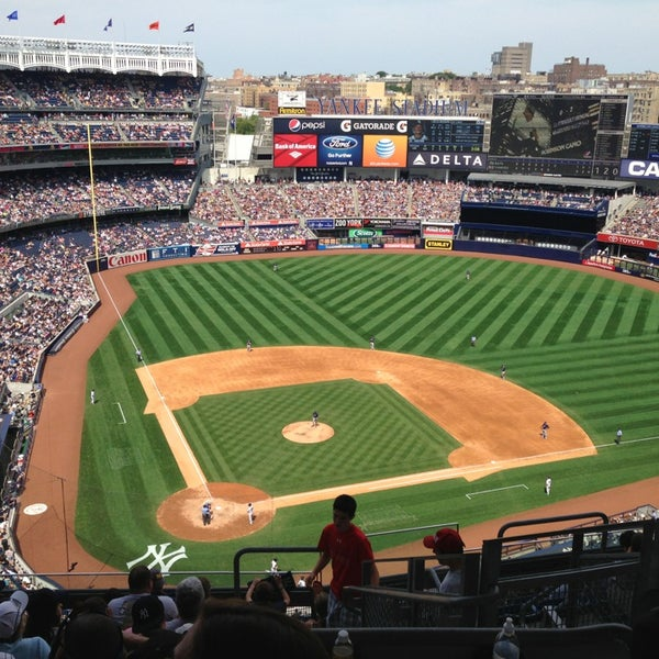 Photo taken at Yankee Stadium by Matt R. on 7/27/2013
