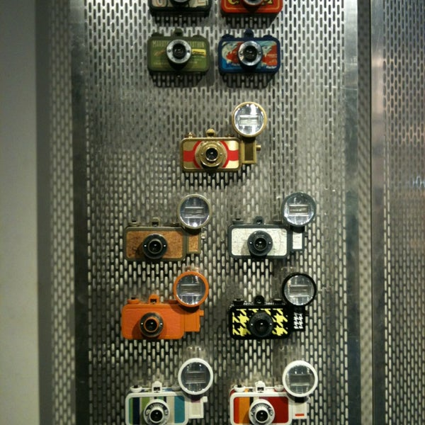 Photo taken at Lomography Gallery Store by Alexandre G. on 7/27/2013