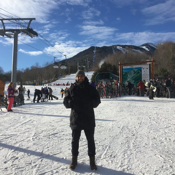 Photo taken at Whiteface Mountain by Nicole T. on 1/14/2017